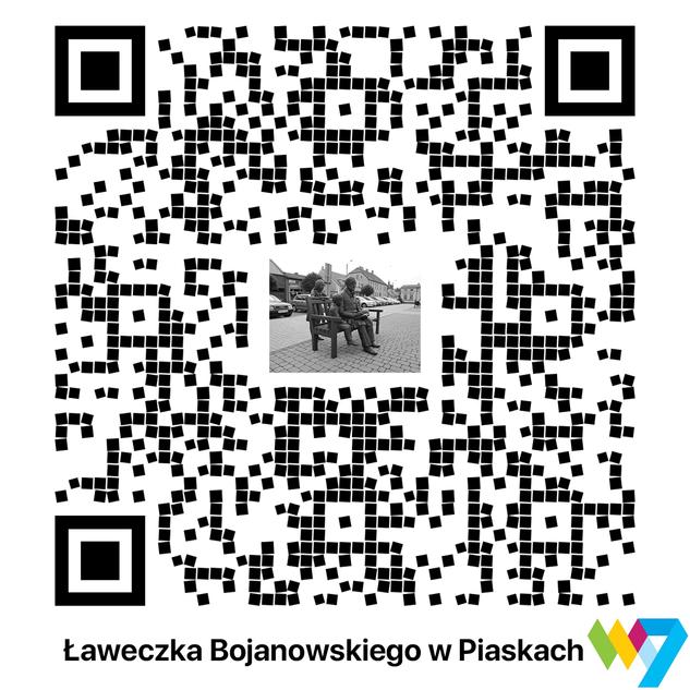 Ławeczka Edmunda Bojanowskiego w Piaskach
