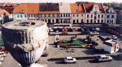 Rynek w Koźminie Wielkopolskim