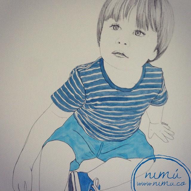 Retrato niño