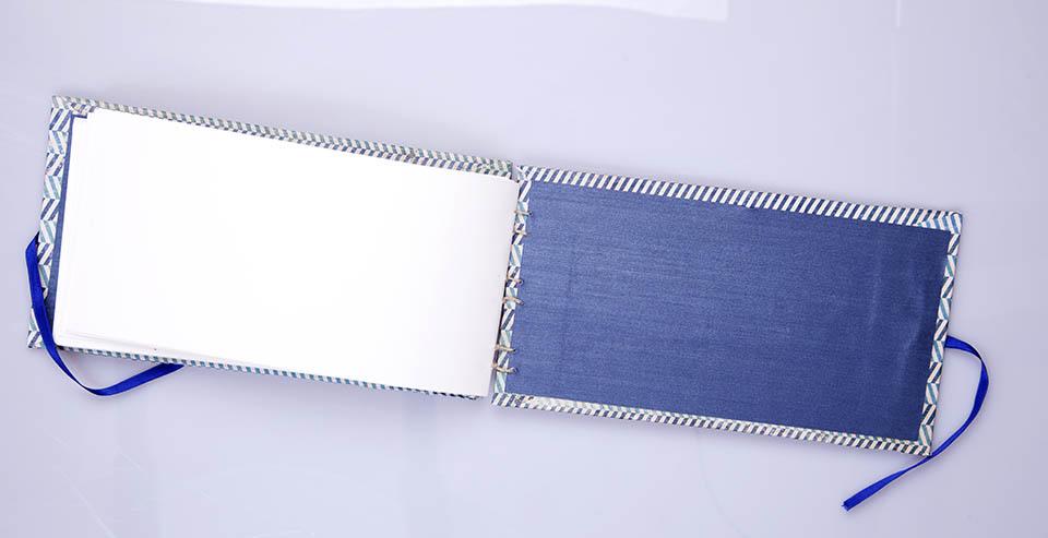 cuaderno copta apaisado