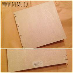 Cuaderno de madera