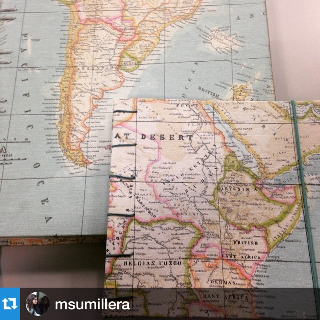 Cuadernos copta mapa mundi
