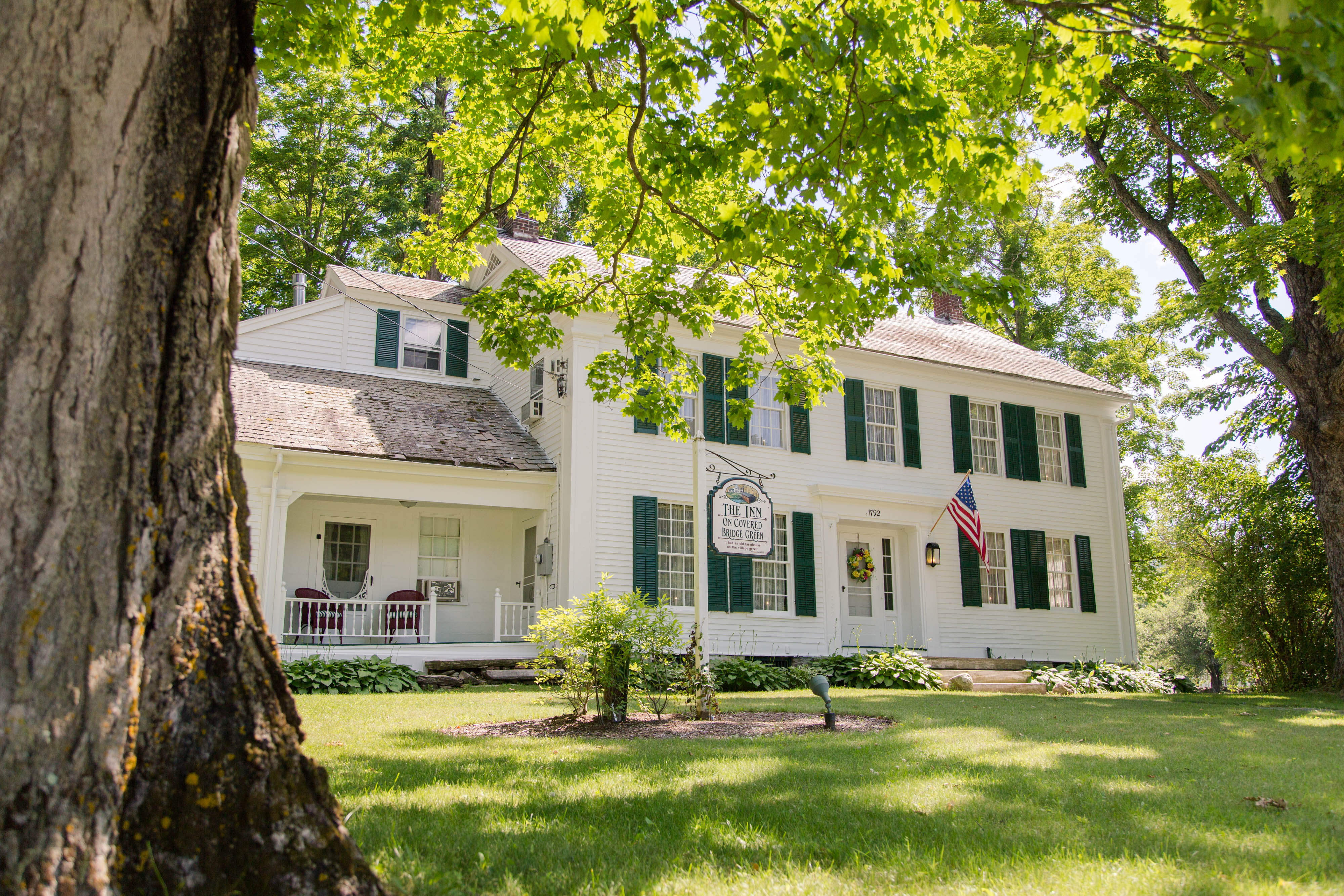 Bed And Breakfast | Norman Rockwell | Inn on Covered Bridge Green
