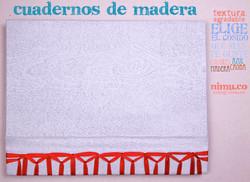 Cuaderno madera