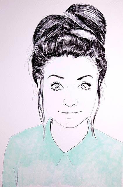 Retrato 1 rostro