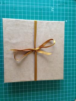 Cuaderno origami kraft