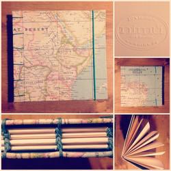 Cuaderno copta mapa mundi