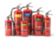 Some of the Types of Extinguishers we Recycle
