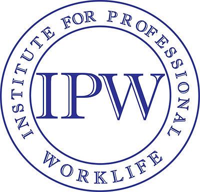 IPW Institute for Professional Worklife LOGO