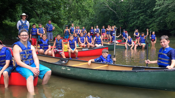 Trailblazers High Adventure Summer Camp, July 2017