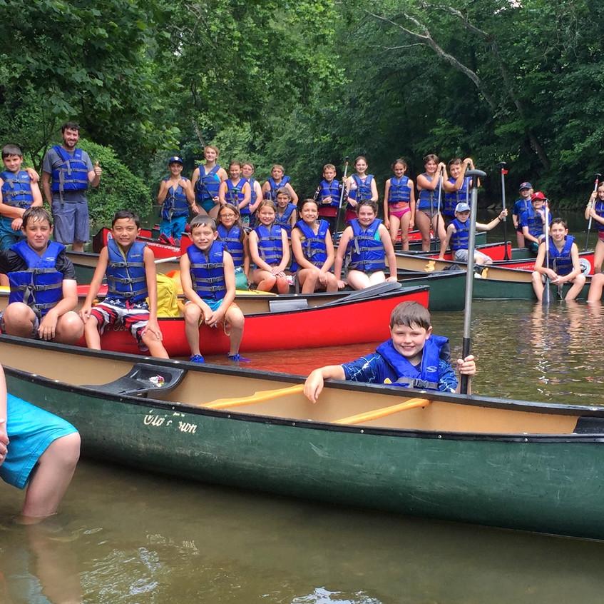 The Crew on Brandywine Creek