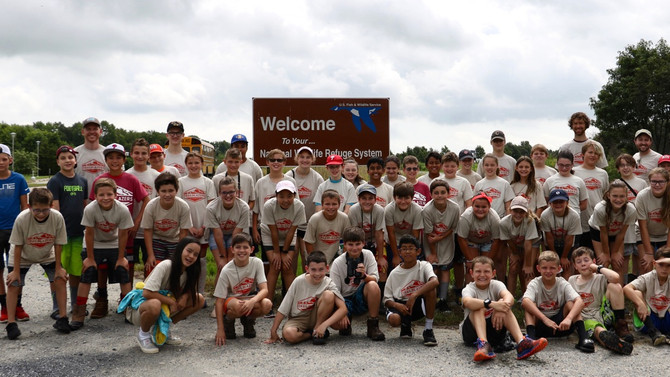 Trailblazers High Adventure Summer Camp, July 2018