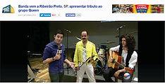 Entrevista - TV Globo de Ribeirão Preto e região