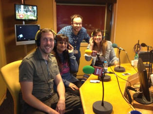 BBC Radio Leicester (Damien St John)