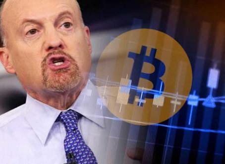 Jim Cramer : Cheap Coinbase Stock, Put 5% of your portfolio in Crypto