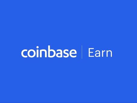 💲 Earn Free Crypto At Coinbase Earn