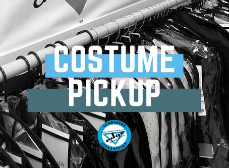 Costume Pickup Days