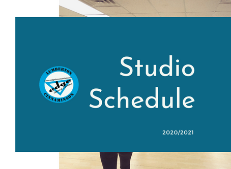 Studio Calendar - 2020/2021