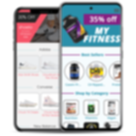 ecommerce mobile app, fitness app, fitness ecommerce, footwear ecommerce