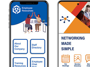 Professional mobile app, Mobile app builder, mobile app development, HR mobile app, networking mobile app