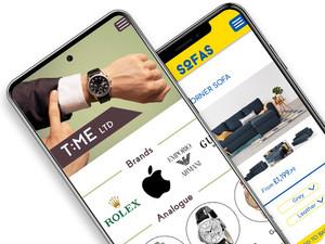 Mobile app builder, mobile app development, ecommerce mobile app