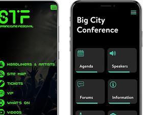 Mobile app builder, mobile app development, event mobile app, conference mobile app, festival mobile app