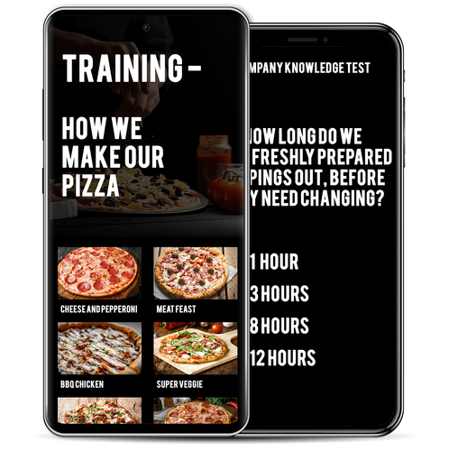 mobile app, professional mobile app, training mobile app, restaurant mobile app