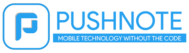 Mobile app builder, mobile app development, pushnote, app builder