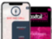 Mobile app builder, mobile app development, restaurant mobile app, bar mobile app, club mobile app, business mobile app