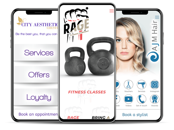 Mobile app, mobile apps, fitness app, fitness apps, beauty app, beauty apps, salon app, salon apps