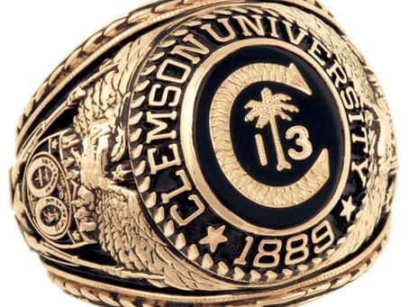 Clemson Ring Week - Jan. 21 - 23rd