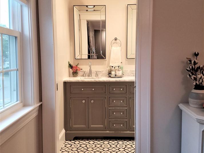 Master bathroom view