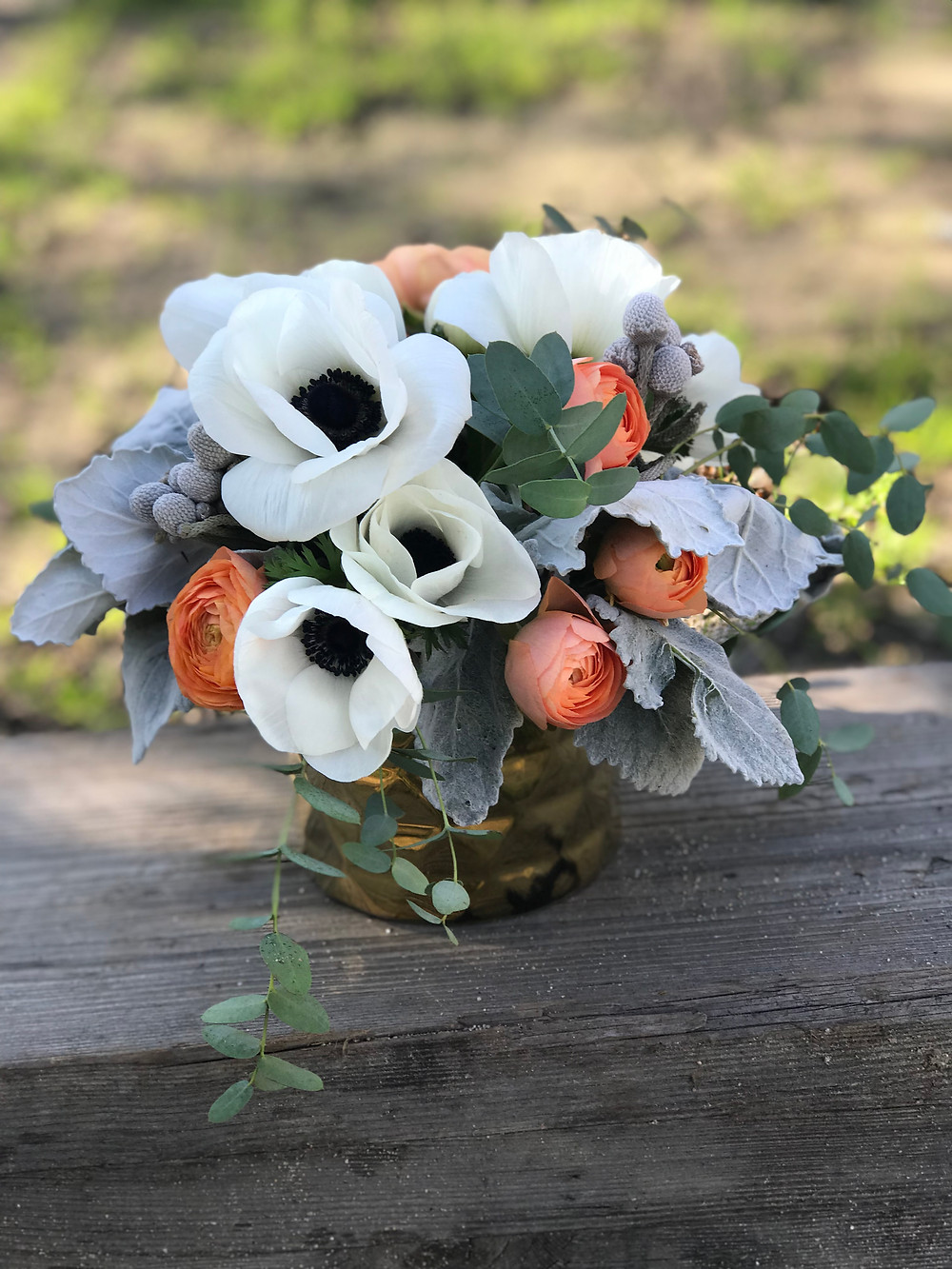 Anemone and Ranuncula Bouquet