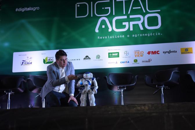 Robótica, automação e nanotecnologia serão os temas da 2ª edição da Digital Agro