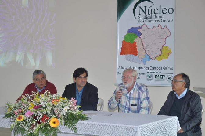 Gustavo Ribas Netto é o novo presidente do Núcleo Sindical Rural dos Campos Gerais