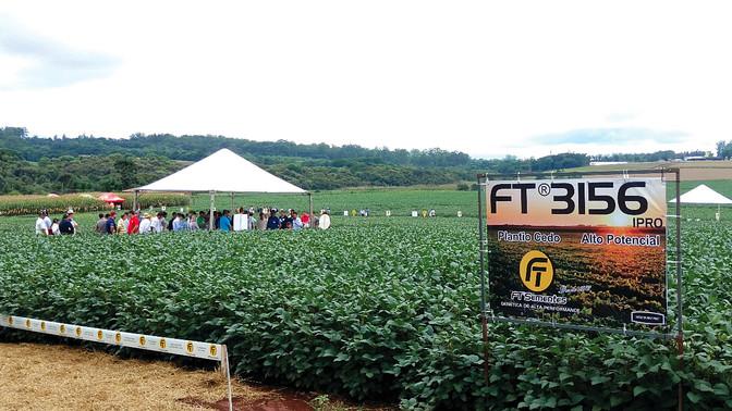 Nove estados brasileiros marcam presença no Dia de Campo FT Sementes