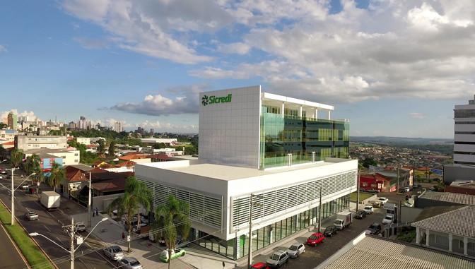 Nova sede representa a consolidação  do Sicredi nos Campos Gerais