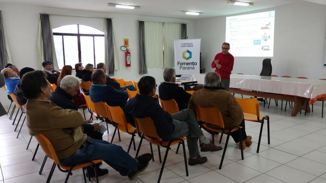 Agência Fomento Paraná apresenta linha de crédito para produtores rurais