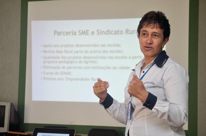 Sindicato Rural é parceiro da SME através do projeto Agrinho
