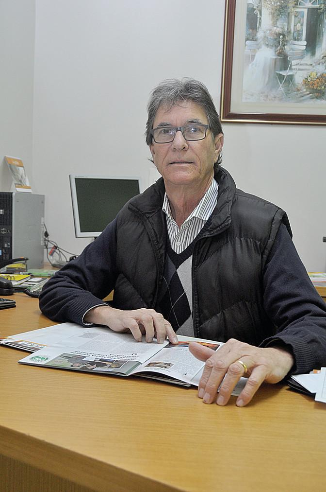 Edilson Gorte é o novo presidente da Sociedade Rural