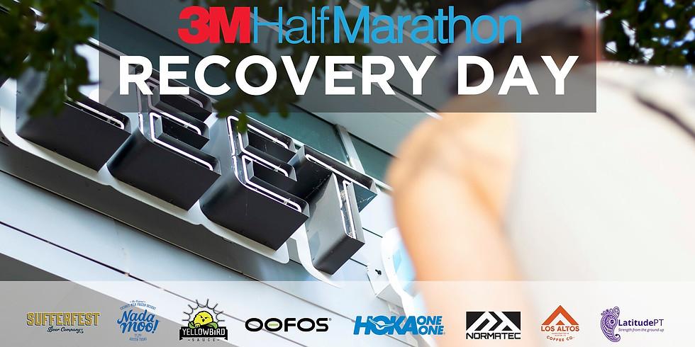 3M Half Marathon Recovery Day
