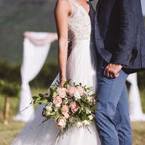 ceremony in the mountains