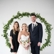 clients and wedding planner