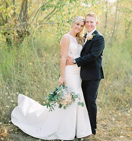 Surprise Wedding Bride and Groom