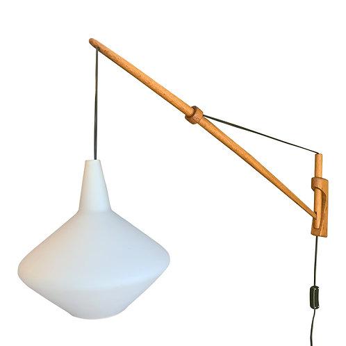 Lisa Johansson Pape mid century wall lamp Finland (SOLD)