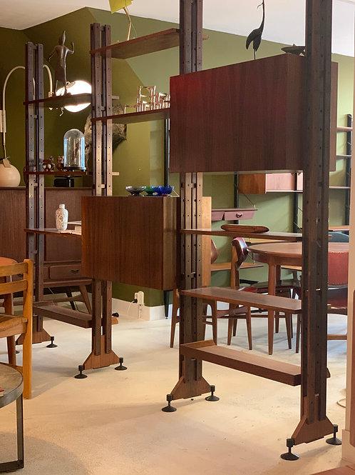 Poggi LB10 Franco Albini Italian room divider/ bookcase / wall unit (SOLD)