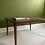 Thumbnail: Deense salontafel teak vintage tafel