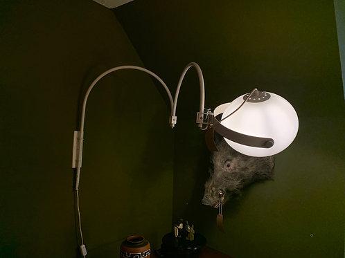 Vintage wandlamp, Dijkstra grote booglamp