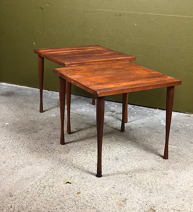 Danish Modern Hans C. Andersen Side Tables - a Pair