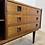 Vintage Deens LP dressoir in Palissander